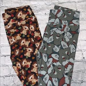 🆕NWT set of 2 LuLaRoe leggings
